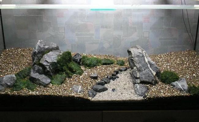 как уложить грунт в аквариуме